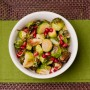 Pomegranate Lime Brussels Sprouts