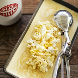 Popcorn and Salted Caramel Ice Cream Recipe