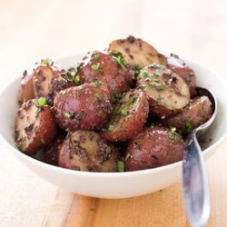 Potatoes with Black Olive Tapenade Recipe