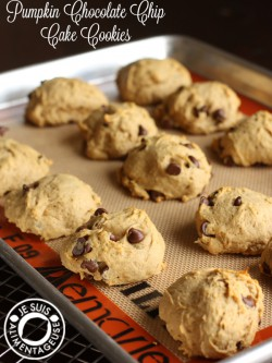 Pumpkin Chocolate Chip Cake Cookies Recipe