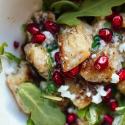 Pumpkin Gnocchi with Arugula and Pomegranate Recipe