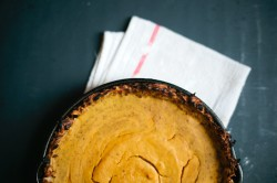 Pumpkin Pie with Latke Crust Recipe
