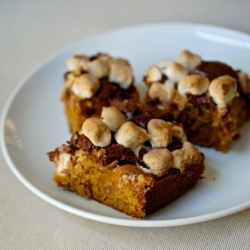 Pumpkin Smores Bars Recipe