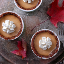 Pumpkin Spice Panna Cotta Recipe