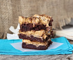 Pumpkin Spice Rocky Road Brownies Recipe
