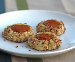 Pumpkin Thumbprint Cookies Recipe