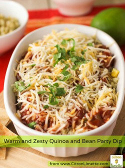 Quinoa Bean Party Dip Recipe