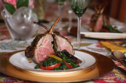 Rack of Lamb Provencal