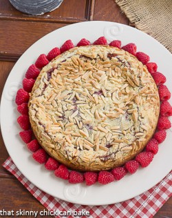 Raspberry Almond Coffee Cake Recipe