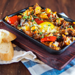 Ratatouille with Egg Recipe