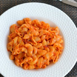 Red Bell Pepper Pasta