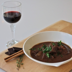 Red Wine and Chocolate Beef Stew Recipe
