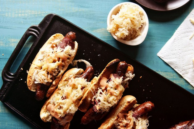 Reuben Hot Dogs Recipe