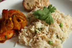 Rice Pilaf with Spices Recipe