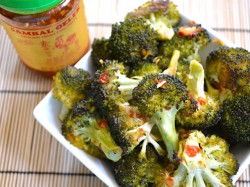 Roasted Broccoli Sambal