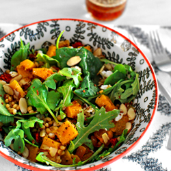 Roasted Butternut Squash and Quinoa Salad Recipe