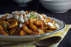 Roasted Delicata Squash Wheat Berry Salad Recipe