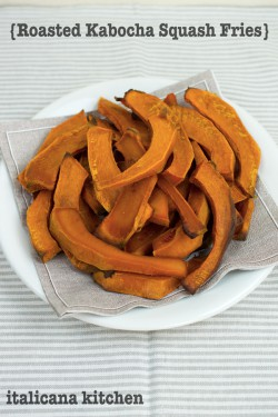 Roasted Kabocha Squash Fries