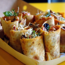 Rolled Pizza