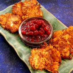 Root Vegetable Latkes Recipe