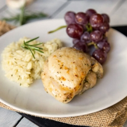 Rosemary Garlic Chicken Recipe