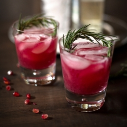 Rosemary Pomegranate Cocktail Recipe