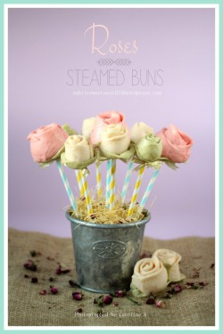 Roses Steamed Buns