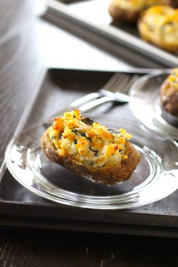Savory Twice-Baked Potatoes
