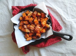 Sesame Roasted Sweet Potatoes Recipe