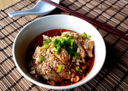 Sichuan Ko Shui Chicken in Chili Soy Sauce Recipe