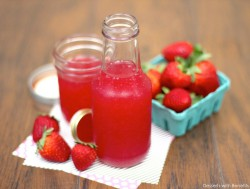 Skinny Strawberry Syrup
