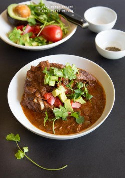 Slow Cooker Chocolate Chicken Mole
