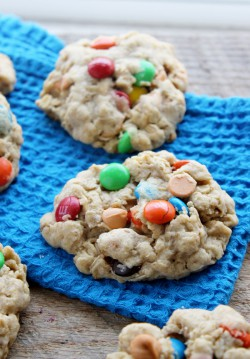 Small Batch Loaded Oatmeal Cookies