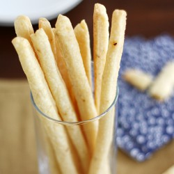 Smoked Gouda Cheese Straws