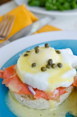 Smoked Salmon Eggs Benedict