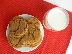 Soft Gingersnaps Recipe