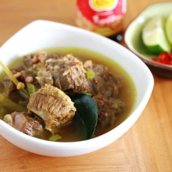 Soto Sapi, Indonesian Beef Soup