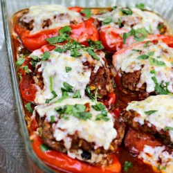 Southwest Chipotle Stuffed Peppers