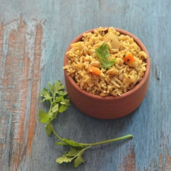 Soybean and Cottage Cheese Pulao Recipe