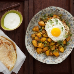 Spiced Indian Potatoes