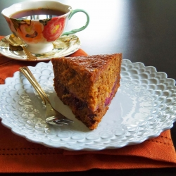 Spiced Plum Pudding Cake Recipe