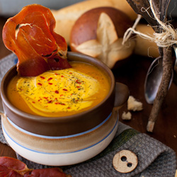 Spicy Cream of Pumpkin Soup