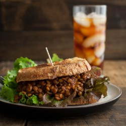 Spicy Lentil Vegan Sloppy Joe