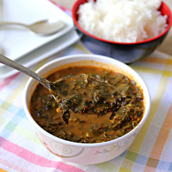 Stew With Greens And Coconut