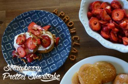 Strawberry Pretzel Shortcake