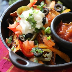 Sweet Potato Irish Nachos Recipe