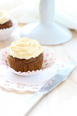 Sweet Potato Quinoa Flour Cupcakes Recipe