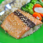 Tamari and Mirin-Glazed Salmon