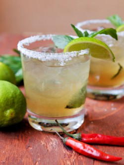 Thai Basil Margarita Recipe