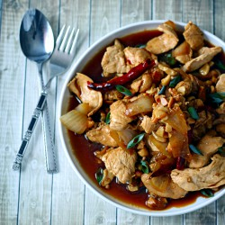 Thai Chicken with Cashews Recipe